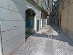 Brescia pezzo marmo parete piazza Loggia