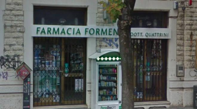Brescia rapina inseguito farmacista arrestare