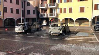 Cologne auto furgone fiamme doloso