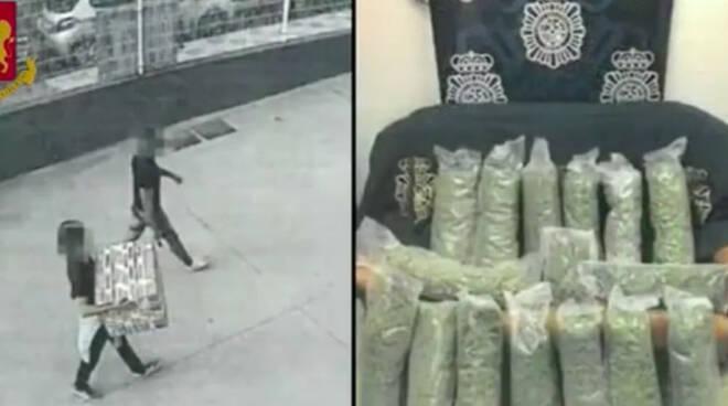 droga spagna piazze bresciane arresti