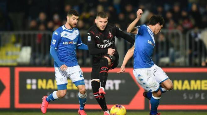 Serie A Brescia gioca perde Milan espugna Rigamonti
