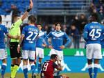 Serie A Brescia pareggia Cagliari Espulso Balotelli