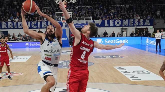 Basket grande rimonta Germani Battuta Trieste