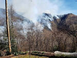Boschi Valtrompia Valsabbia continuano a bruciare