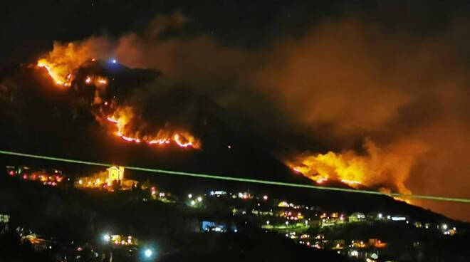 Casto Lodrino Bione Lumezzane lavoro incendi boschivi
