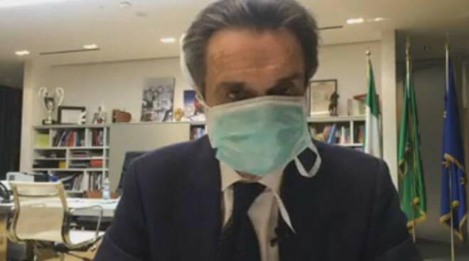 Coronavirus governatore lombardo Fontana auto-isolamento