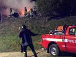 Cortefranca incendio riserva Torbiere subito spento