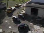 Foggia in capannone due auto rubate Brescia Desenzano