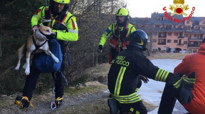 Montecampione due escursionisti recuperati quota