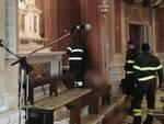 Monticelli Brusati incendio chiesa opere d'arte messe in salvo