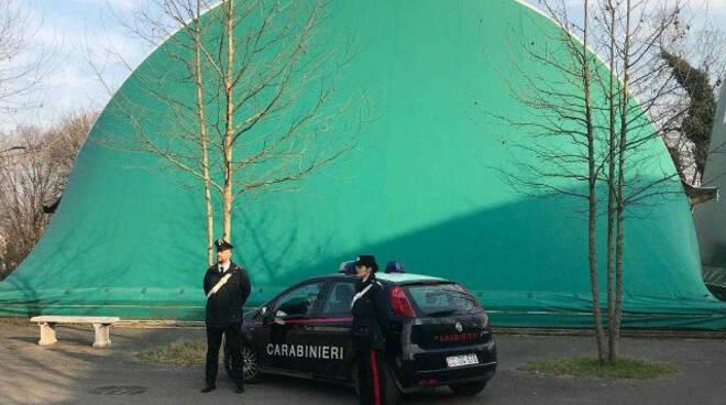 Pontevico giovani ladri vandali beccati ubriachi in palestra
