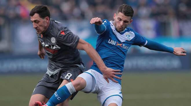 Serie A Brescia ripreso recupero Udinese