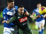 Serie A Brescia sconfitto rimonta Napoli 2-1