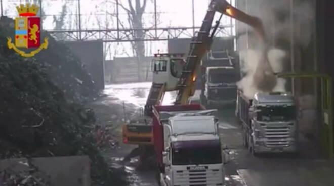 Traffico illecito rifiuti sequestro General Rottami Montichiari