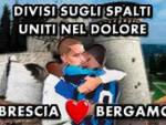 Coronavirus abbraccio Brescia Atalanta immagine