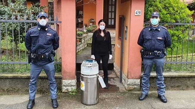 ossigeno polizia