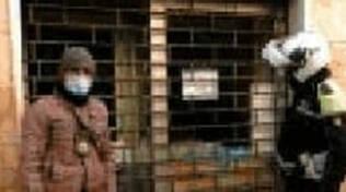 Brescia Polizia Locale chiude un market in via Pace