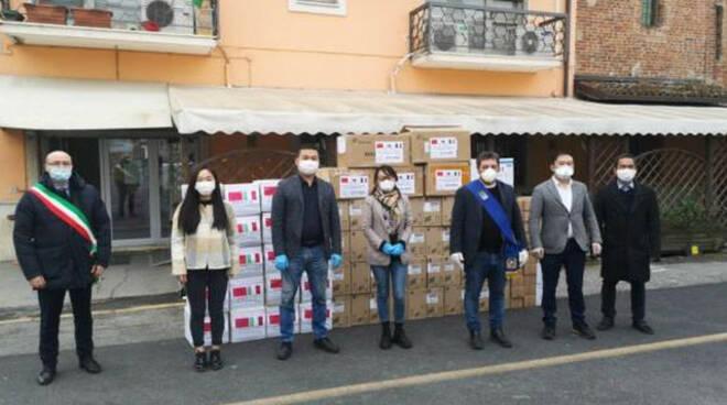 Coronavirus Manerbio protezioni bar cinesi medici militari