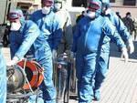 Coronavirus militari russi alla Rsa di Pontevico per sanificare