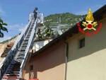 Rezzato brucia tetto di una casa a Virle Arrivano i Vvf
