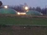 Chiari esplode una cupola all'impianto di produzione biogas