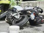Corteno Golgi perde il controllo della moto e finisce in un canale