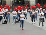 Flash mob infermieri in piazza Vittoria siamo qui per i nostri diritti