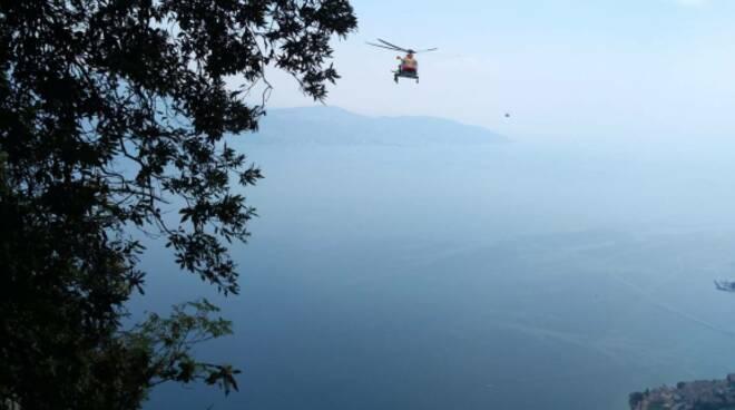 gargnano elicottero