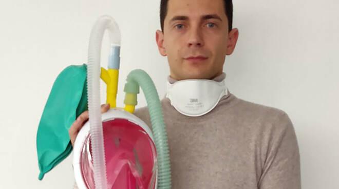Maschere snorkeling in respiratori Fracassi e Favero Cavalieri al Merito