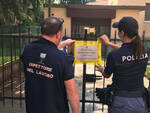 Brescia questura fa chiudere un laboratorio tessile clandestino di cinesi