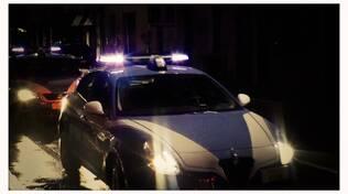controlli in via Milano della polizia