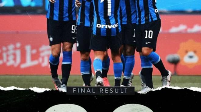 Inter asfalta il Brescia calcio: 6-0