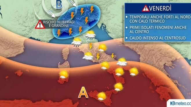 meteo-italia-venerdì