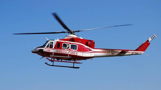 Paisco Loveno mucca cade in un burrone Serve elicottero per salvarla