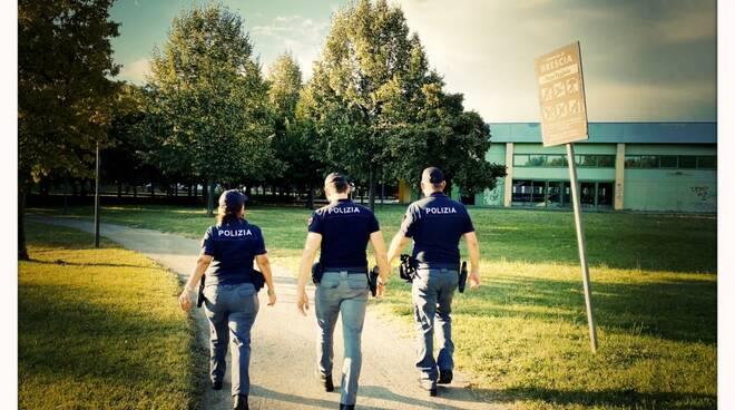 polizia brescia via lamarmora e parco Gallo