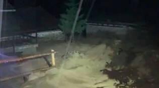 Ponte di Legno maltempo provoca frane e allagamenti Residenti evacuati