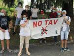 Progetto Tav e nuovi binari verso Verona presidio contrario dei No Tav