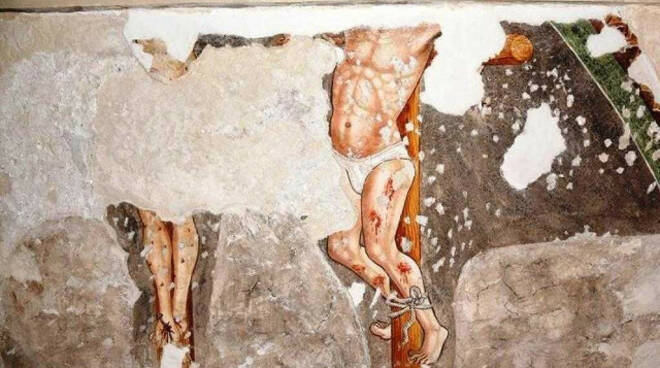 Sabbio Chiese nella pieve di Sabbio Sopra spunta un altro affresco