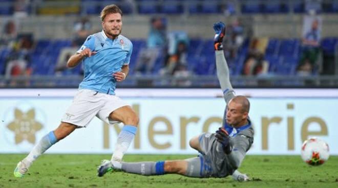 Serie A Brescia battuto 2 0 dalla Lazio in trasferta all Olimpico