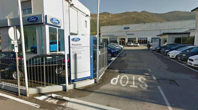 Concesio ladri alla concessionaria Fioletti Poi abbandonano i veicoli
