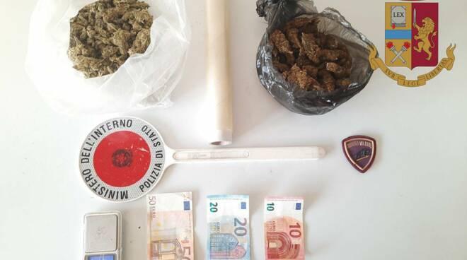 polizia di Brescia sequestra marijuana