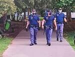 polizia nei parchi di Brescia