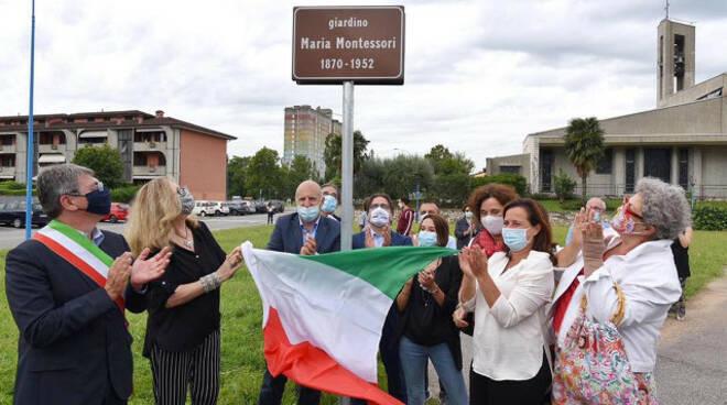 Brescia a 150 anni dalla nascita di Maria Montessori aperto un giardino
