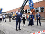 Brescia iniziata demolizione a ex Ideal Clima Al suo posto un teatro