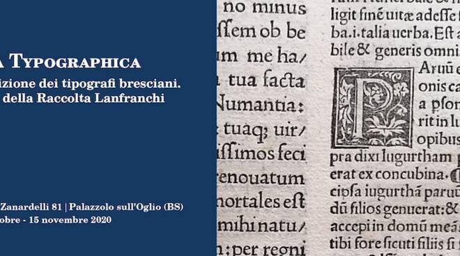 Brixia Typographica a Villa Laffranchi