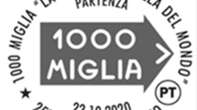 annullo filatelico 1000 miglia 2020