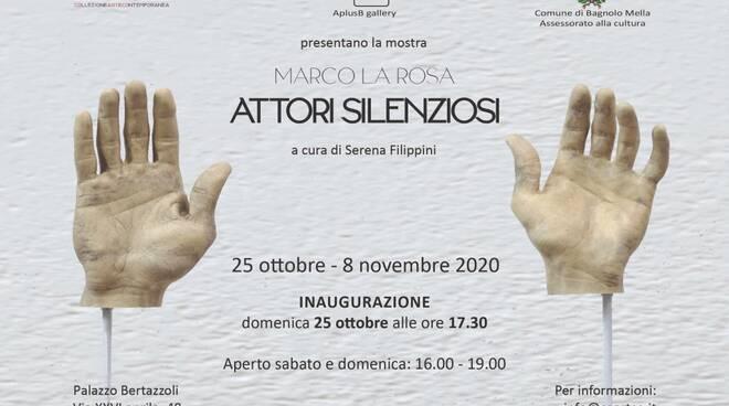 attori silenziosi di Marco La Rosa