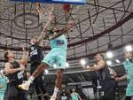 Basket Eurocup Brescia batte Ratiopharm dopo un supplementare