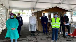Brescia 2 mila tamponi al giorno nel nuovo Centro Covid di via Morelli