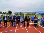 Brescia in via Tirandi inaugurato il rinnovo della pista di atletica